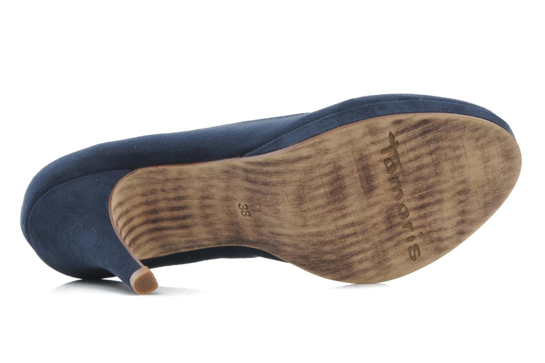 Zapatos de tacón Tamaris Romane Azul vista de arriba
