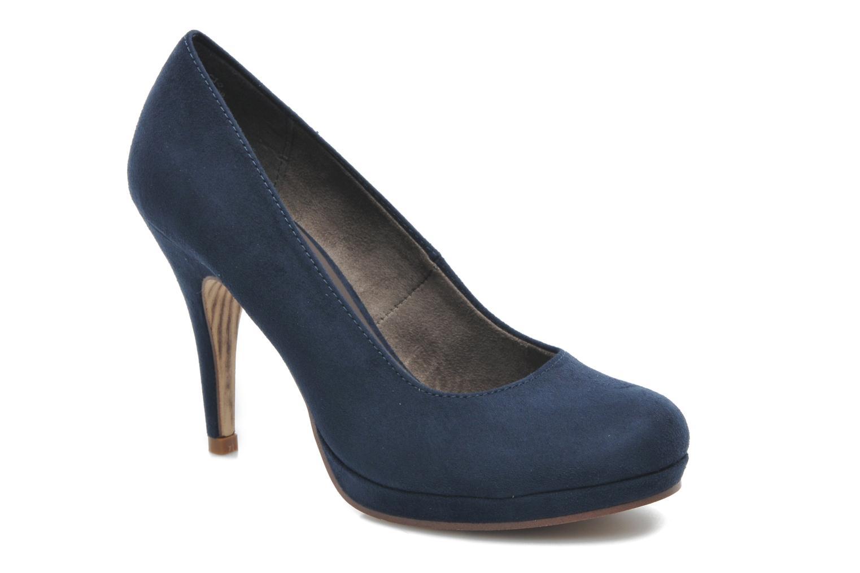 Zapatos de tacón Tamaris Romane Azul vista de detalle / par