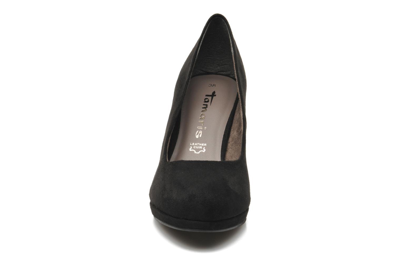 Escarpins Tamaris Downtown Noir vue portées chaussures