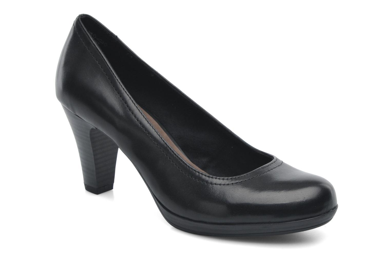 High heels Tamaris Kristy Black detailed view/ Pair view