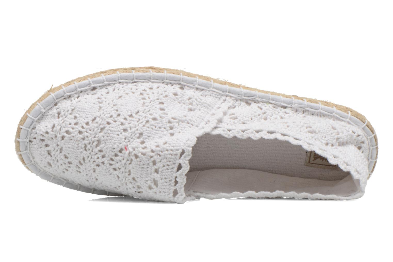 Espadrilles Colors of California Lara White view from the left
