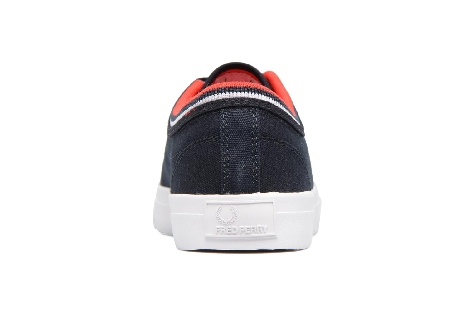 Sneakers Fred Perry Kendrick tipped cuff canvas Blauw rechts