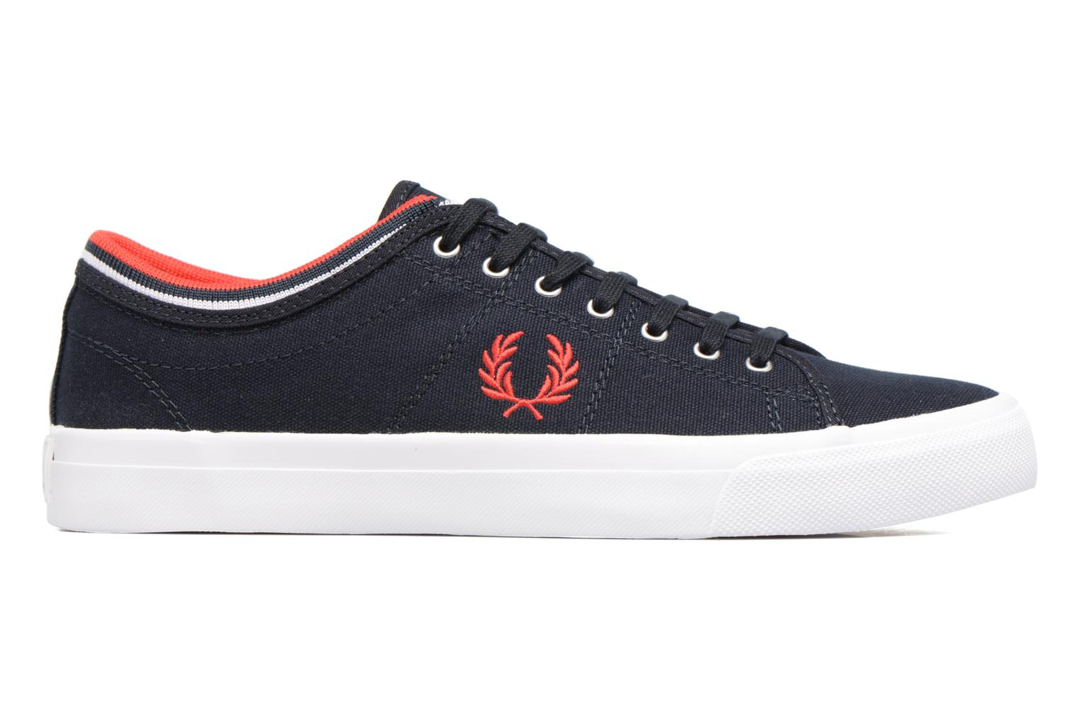 Baskets Fred Perry Kendrick Tipped Cuff Canvas Bleu vue derrière