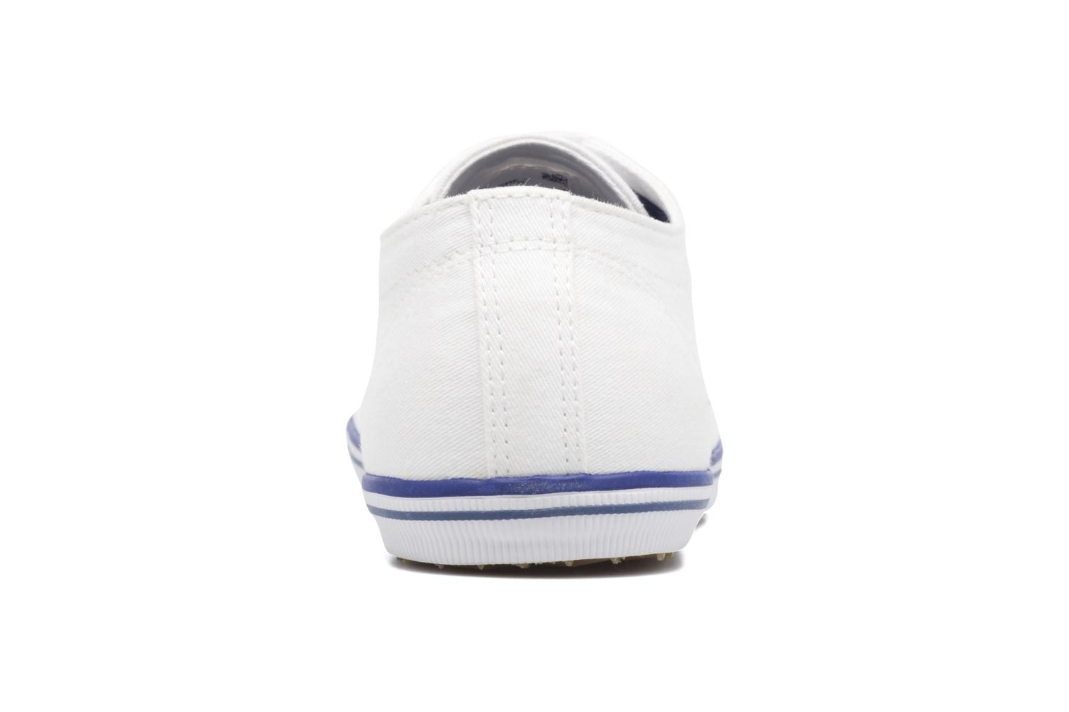 Baskets Fred Perry Kingston Twill Blanc vue droite