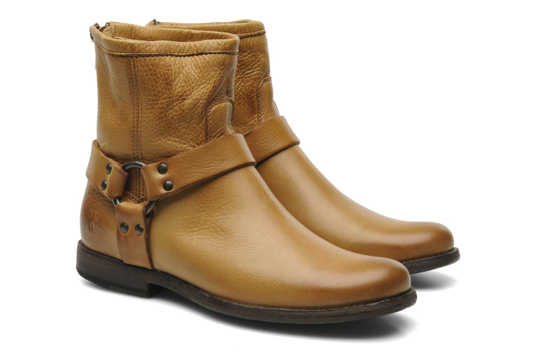 Boots en enkellaarsjes Frye Philip Harness Bruin 3/4'