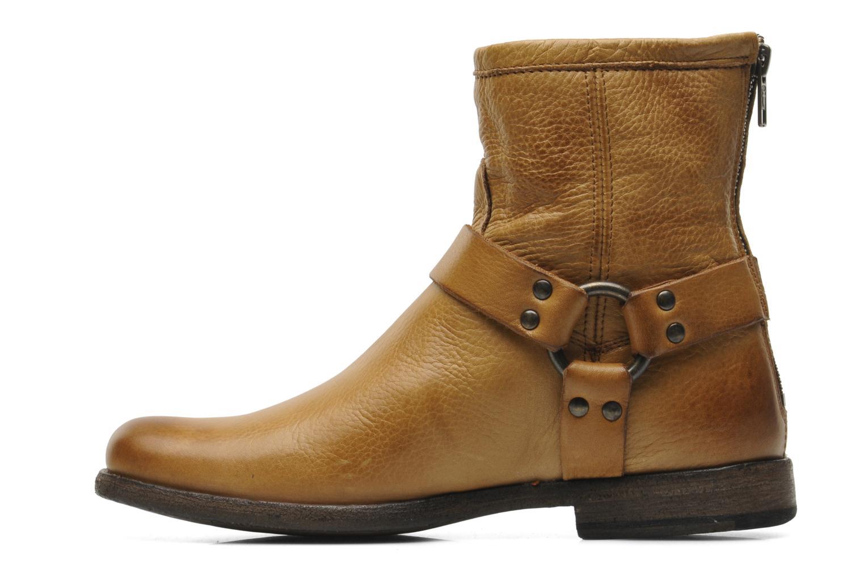 Boots en enkellaarsjes Frye Philip Harness Bruin voorkant
