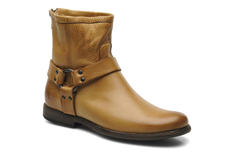 Boots en enkellaarsjes Frye Philip Harness Bruin detail
