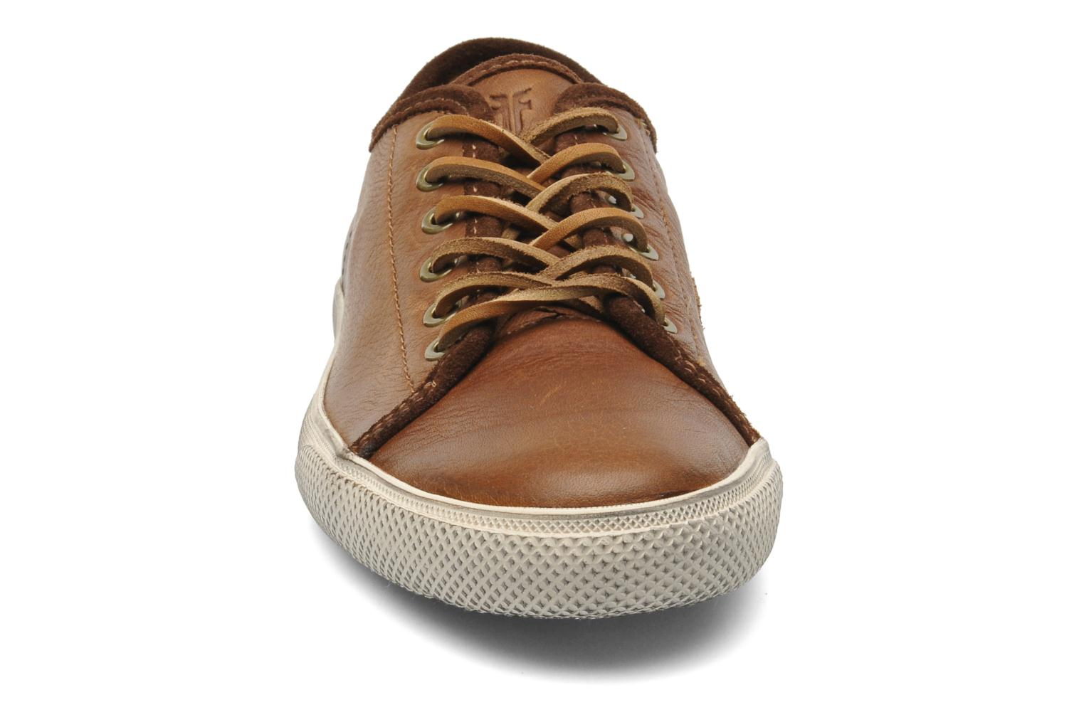 Baskets Frye Chambers Low Marron vue portées chaussures
