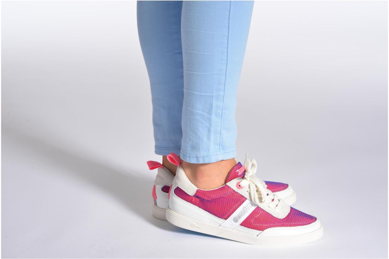 Sneaker Gaastra Seizing sport rosa ansicht von unten / tasche getragen