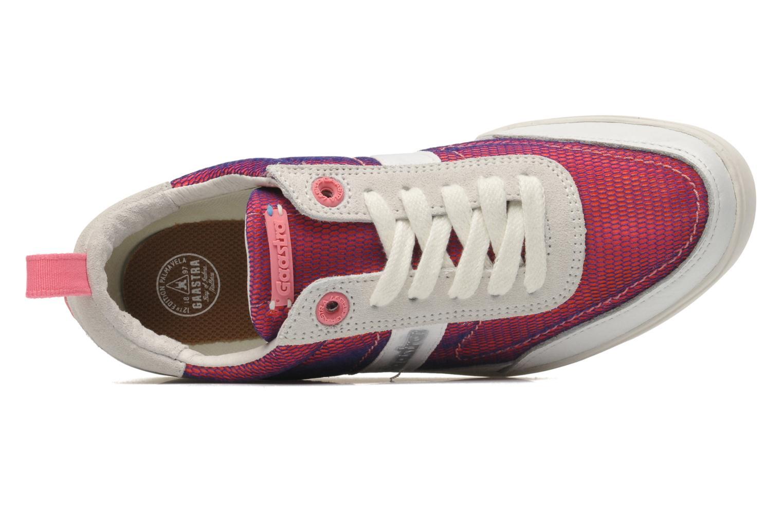 Sneaker Gaastra Seizing sport rosa ansicht von links