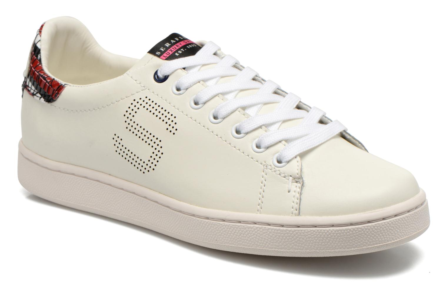 Sneakers Serafini J.Connors Wit detail