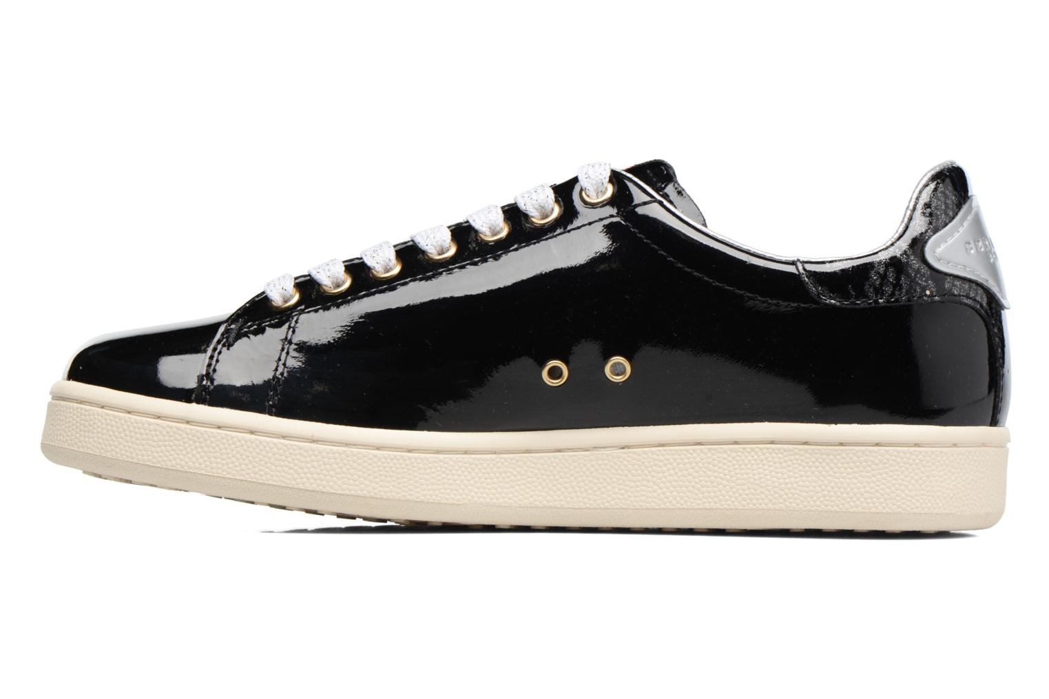 Trainers Serafini J.Connors Black front view