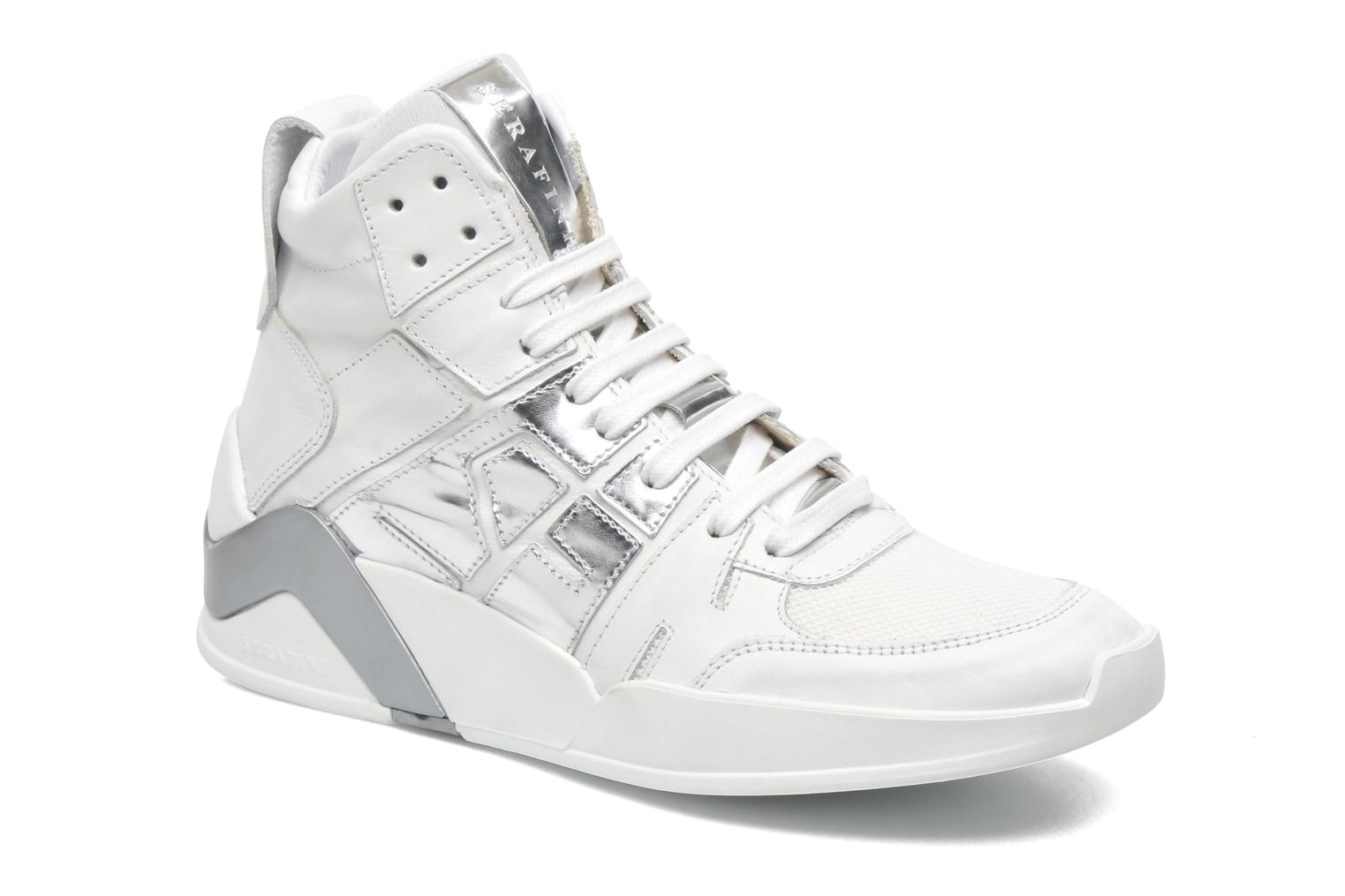 Sneakers Serafini Chicago 2 Wit detail