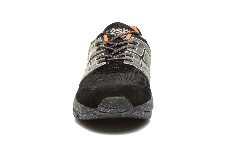 Baskets Serafini Marseille Noir vue portées chaussures