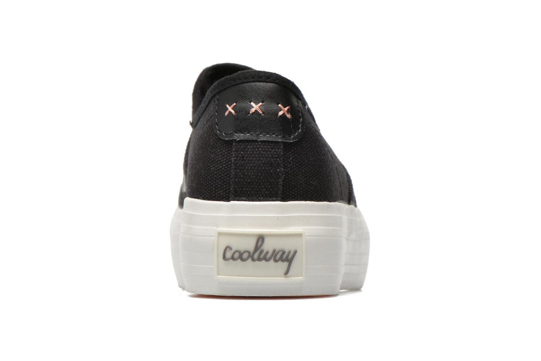 Sneakers Coolway Daniela Zwart rechts