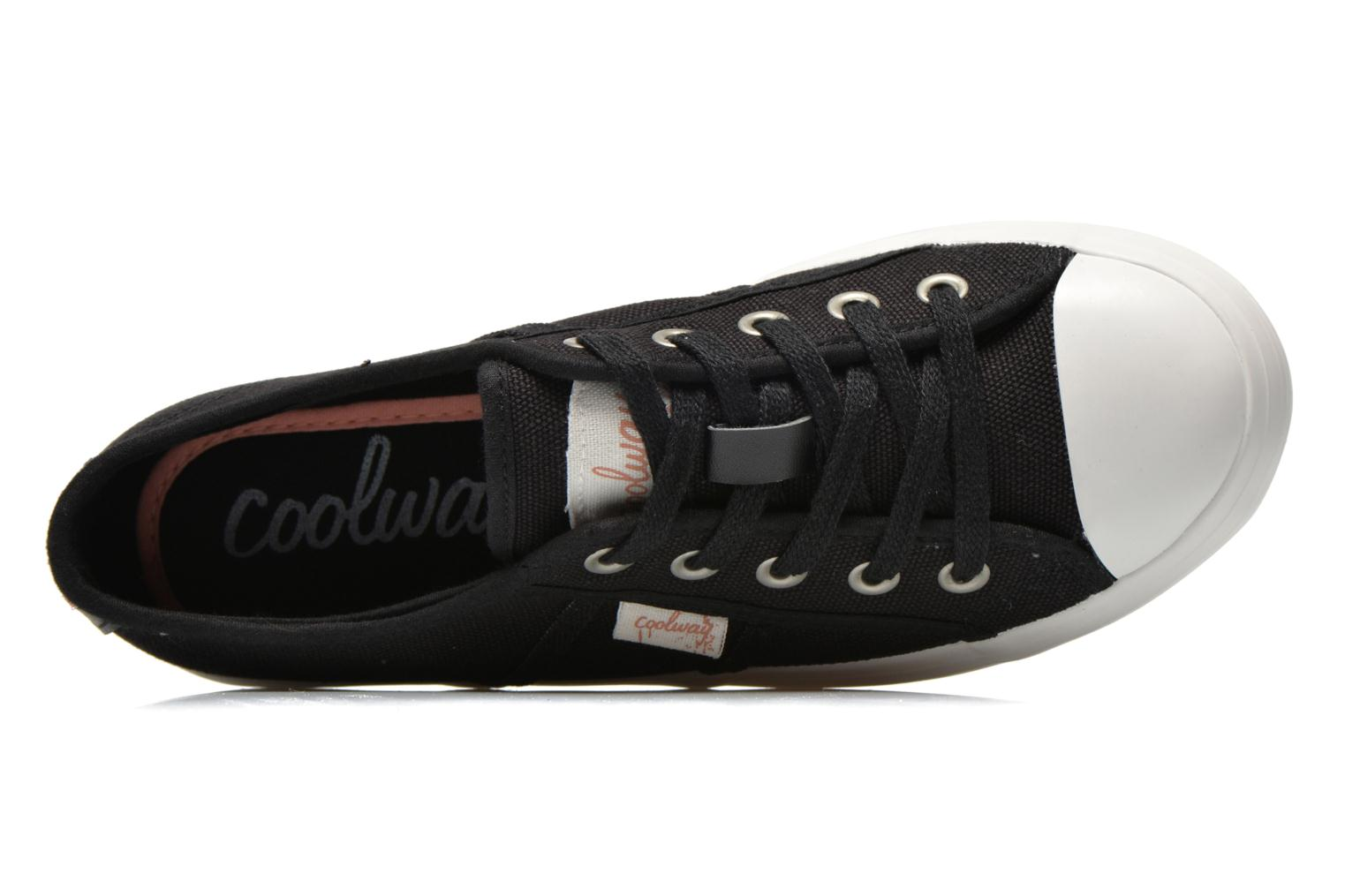 Trainers Coolway Daniela Black view from the left