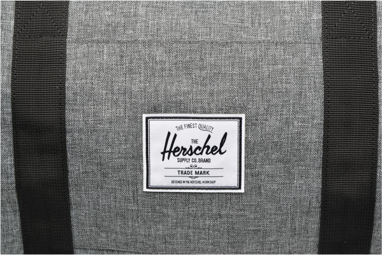 Sporttaschen Herschel Sutton mv grau ansicht von links