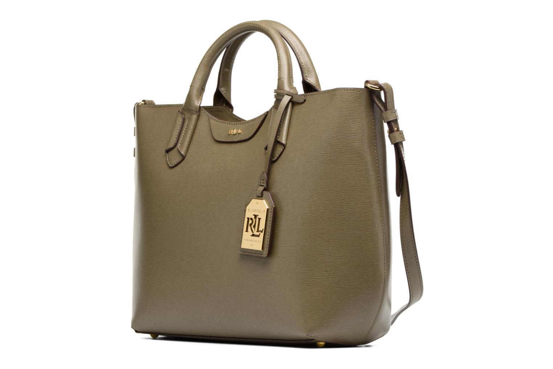 Handbags Lauren by Ralph Lauren Tate Convertible tote Green model view