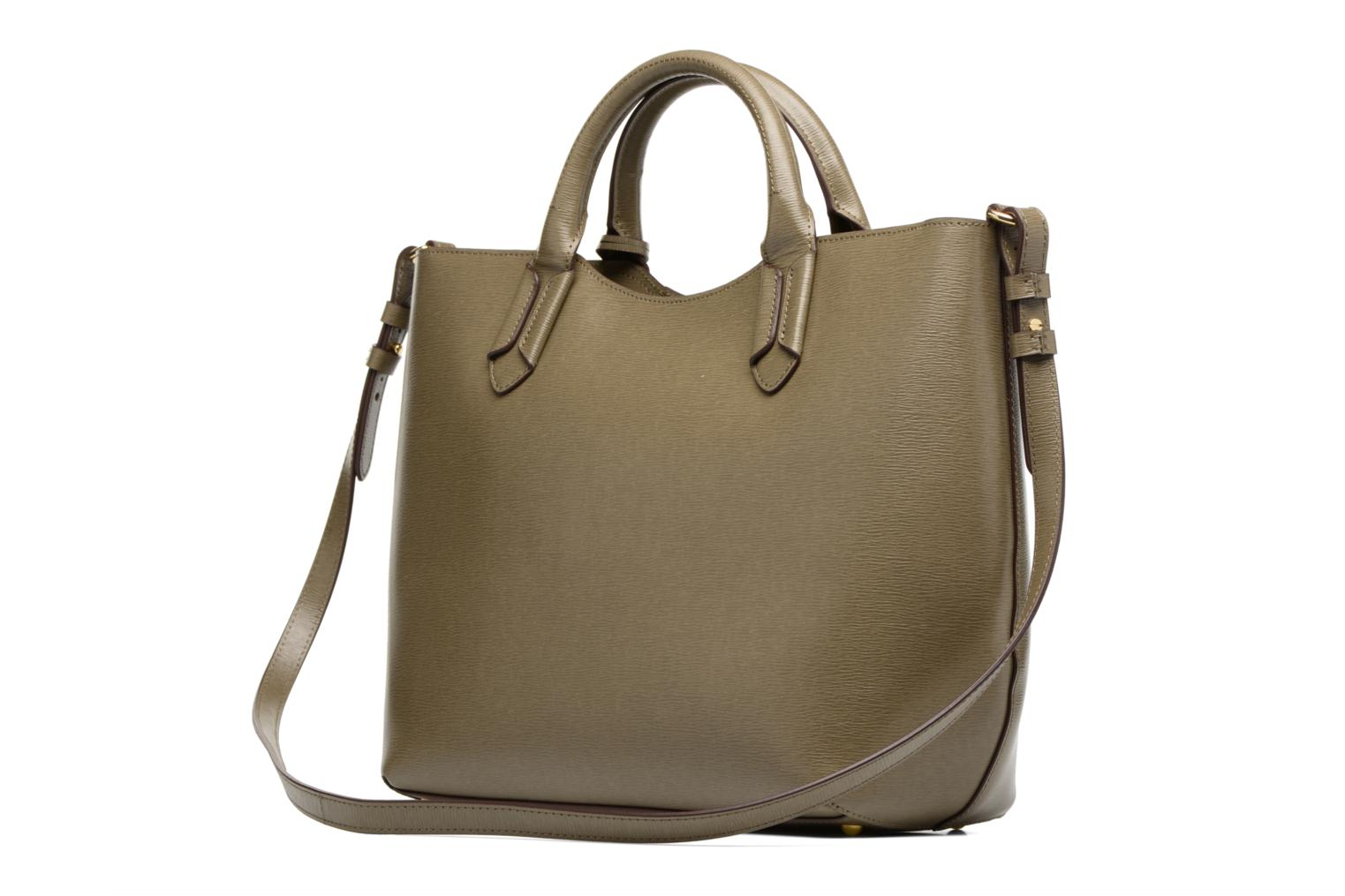 Handbags Lauren by Ralph Lauren Tate Convertible tote Green view from the right