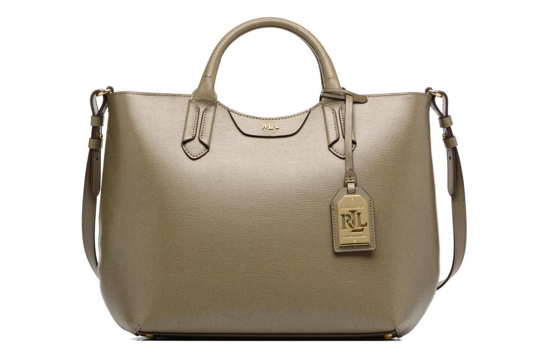 Handbags Lauren by Ralph Lauren Tate Convertible tote Green detailed view/ Pair view