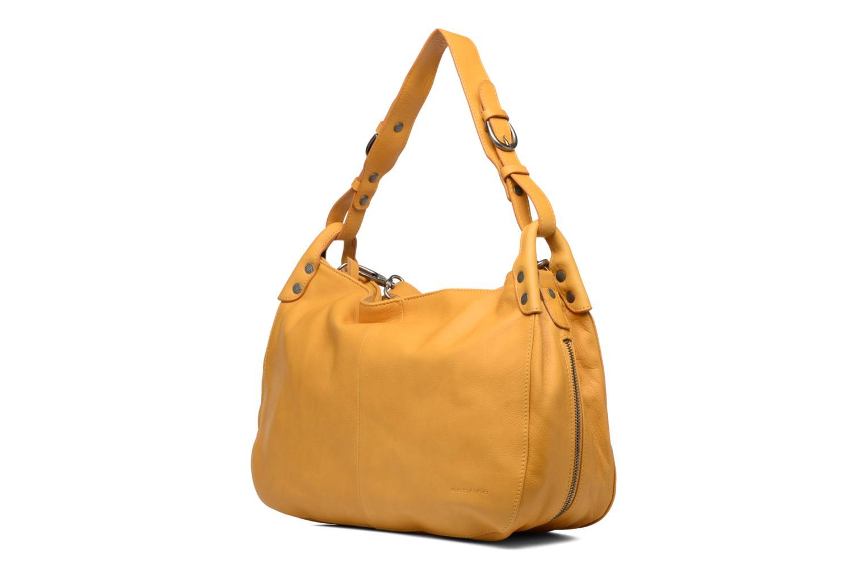 Handtaschen Sabrina Candice gelb schuhe getragen
