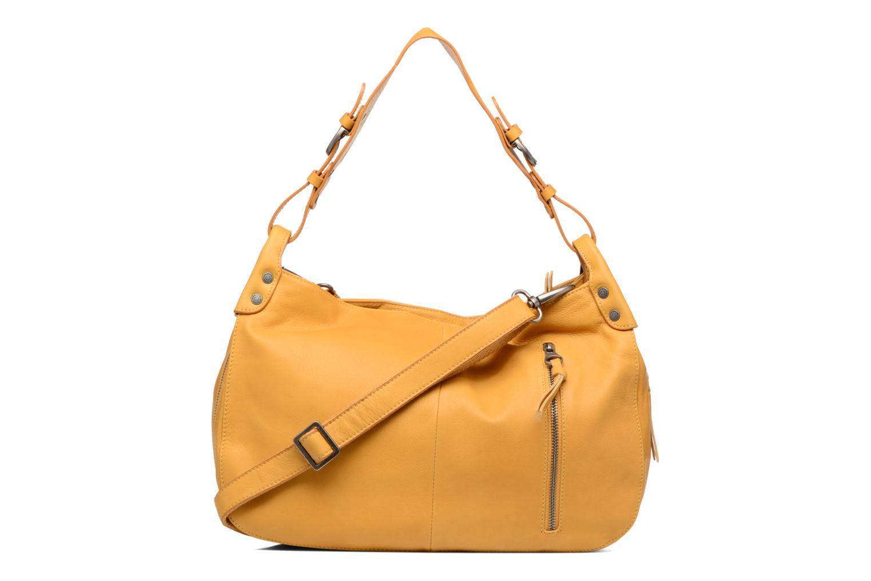 Handtaschen Sabrina Candice gelb ansicht von vorne