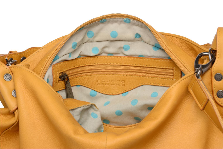 Handtaschen Sabrina Candice gelb ansicht von hinten