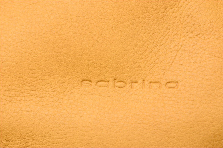 Handtaschen Sabrina Candice gelb ansicht von links