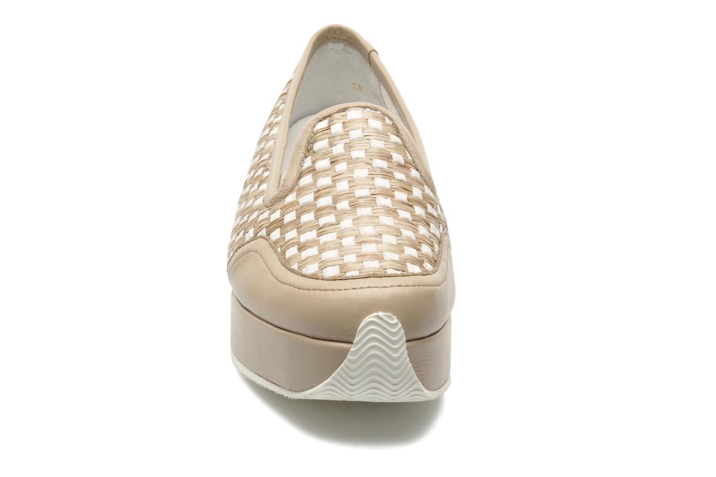 Mocassins Sonia Rykiel Eborde Beige vue portées chaussures