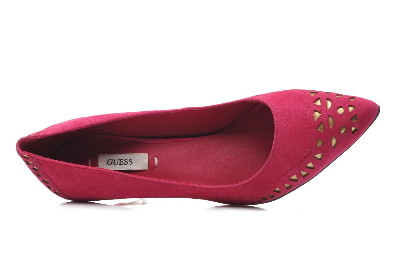 Pumps Guess Elsie rosa ansicht von links