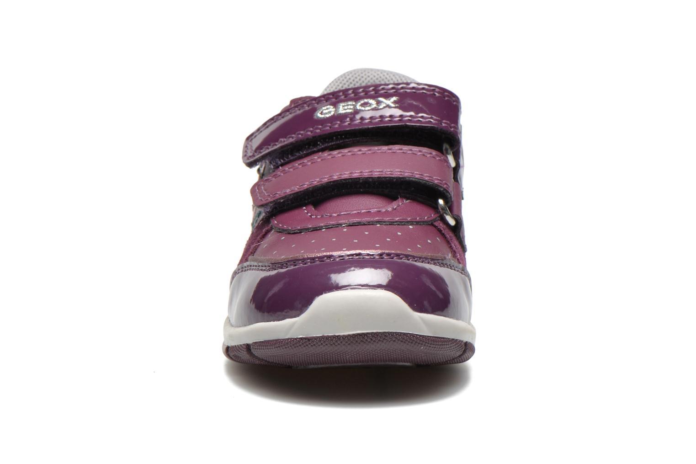 Baskets Geox B SHAAX A - 2 Violet vue portées chaussures