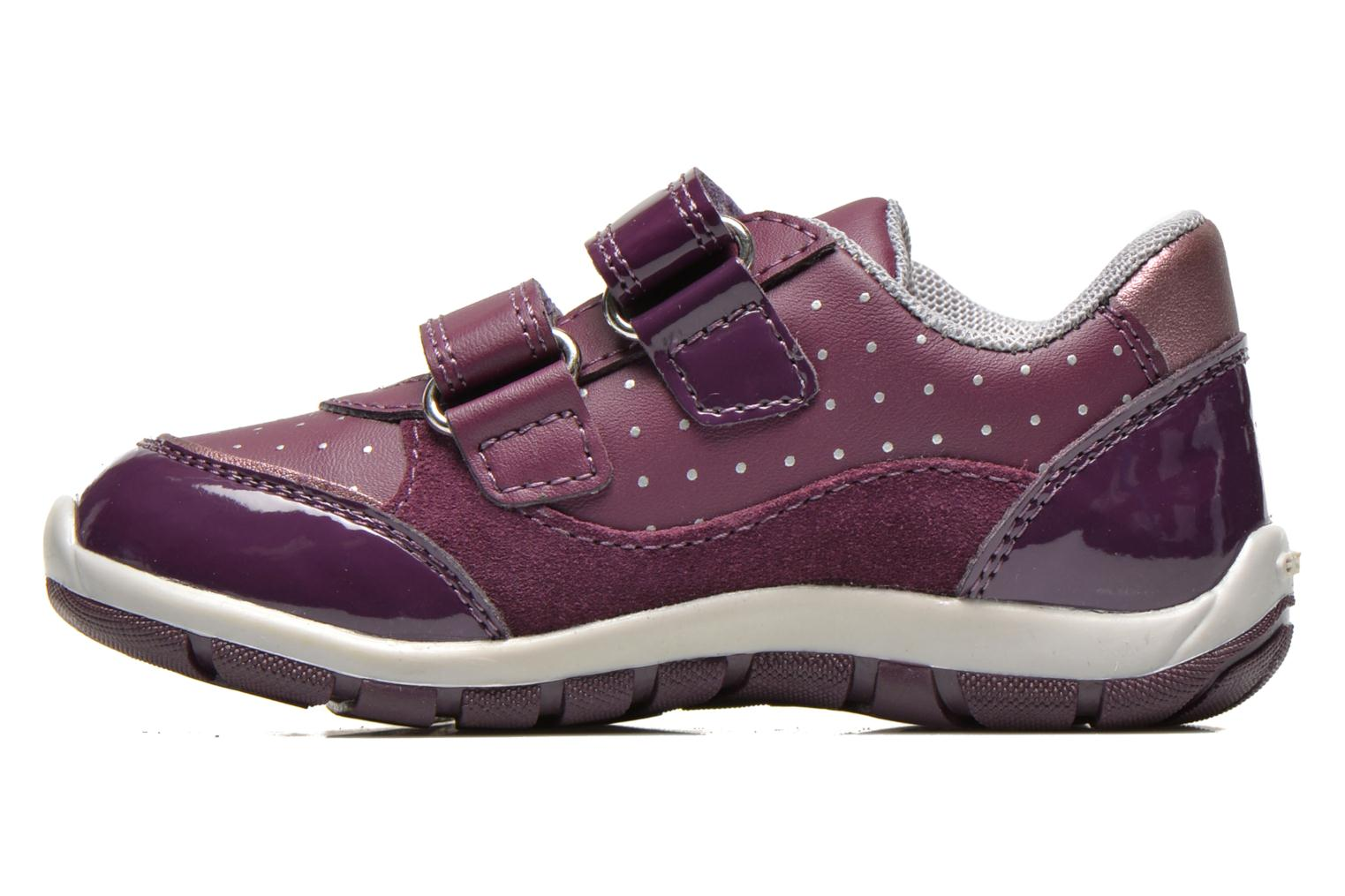 Trainers Geox B SHAAX A - 2 Purple front view