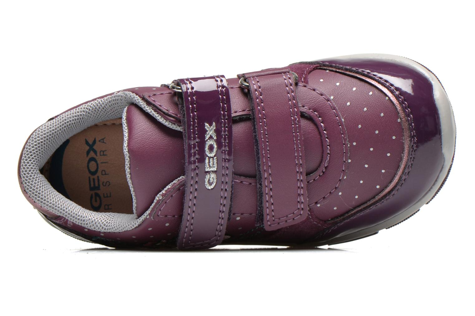 Trainers Geox B SHAAX A - 2 Purple view from the left