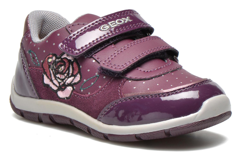 Sneakers Geox B SHAAX A - 2 Lila detaljerad bild på paret