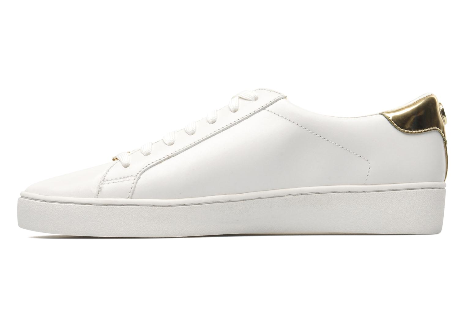 Irving lace up Optic White Gold