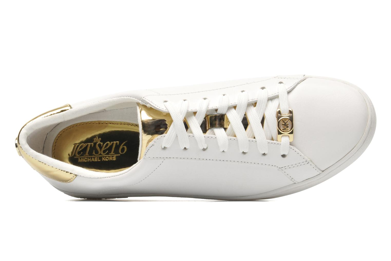 Sneakers Michael Michael Kors Irving Lace Up Vit bild från vänster sidan