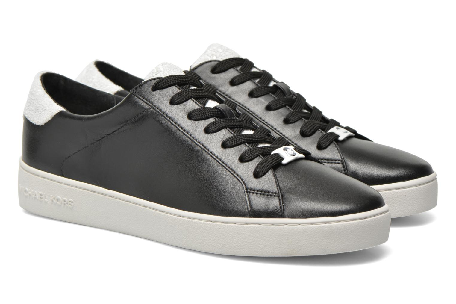 Deportivas Michael Michael Kors Irving Lace Up Negro vista 3/4