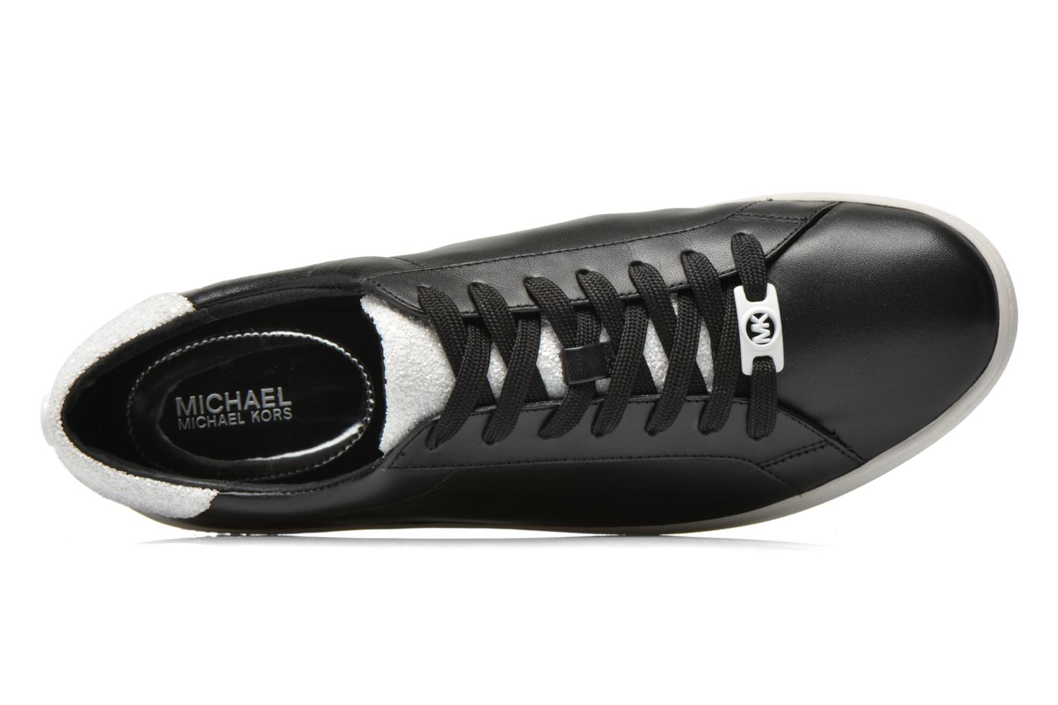 Deportivas Michael Michael Kors Irving Lace Up Negro vista lateral izquierda