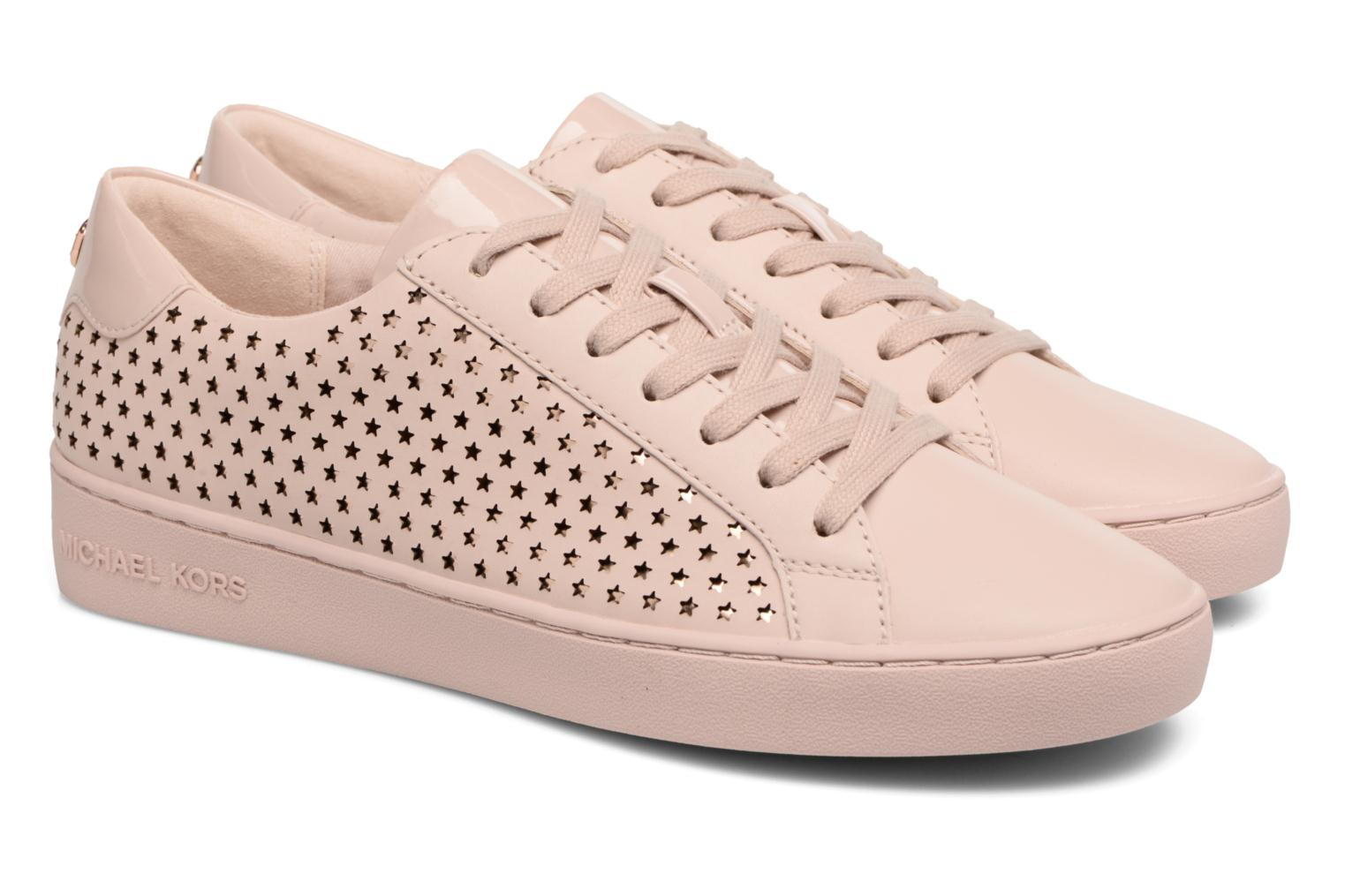 Baskets Michael Michael Kors Irving lace up Rose vue 3/4
