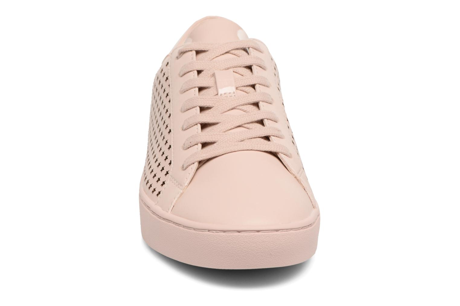 Baskets Michael Michael Kors Irving lace up Rose vue portées chaussures