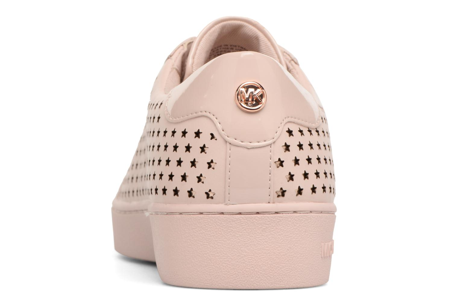 Trainers Michael Michael Kors Irving Lace Up Pink view from the right