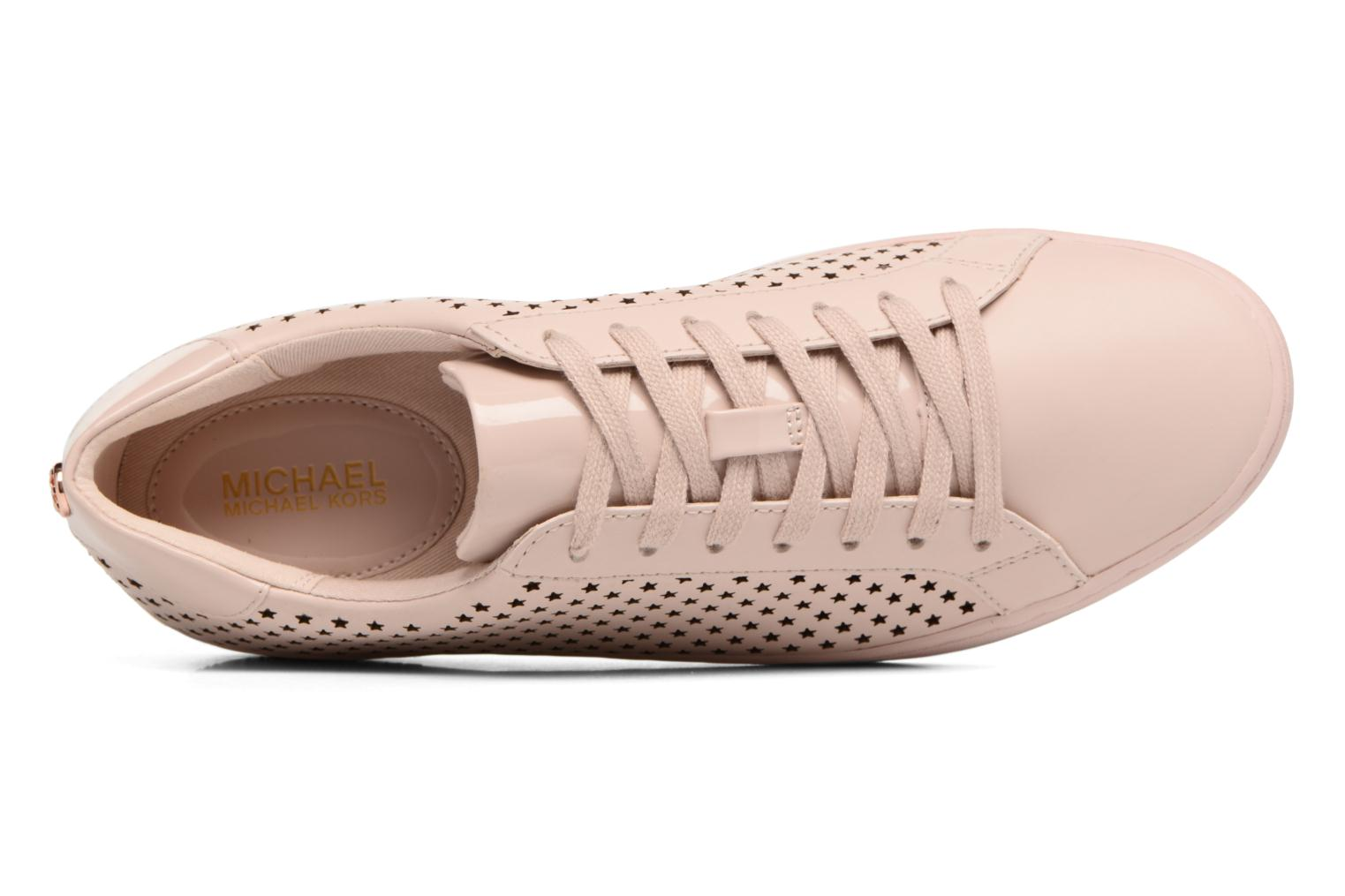 Sneakers Michael Michael Kors Irving Lace Up Rosa bild från vänster sidan