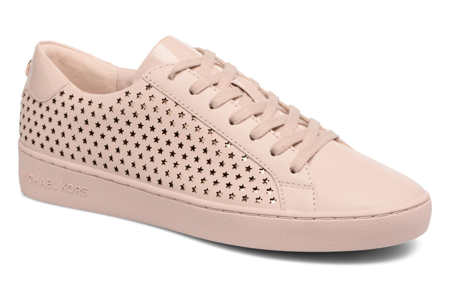 Baskets Michael Michael Kors Irving lace up Rose vue détail/paire