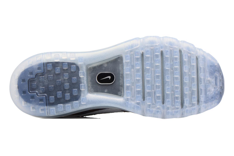 Nike Flyknit Max Black/White-Medium Blue-Team Red