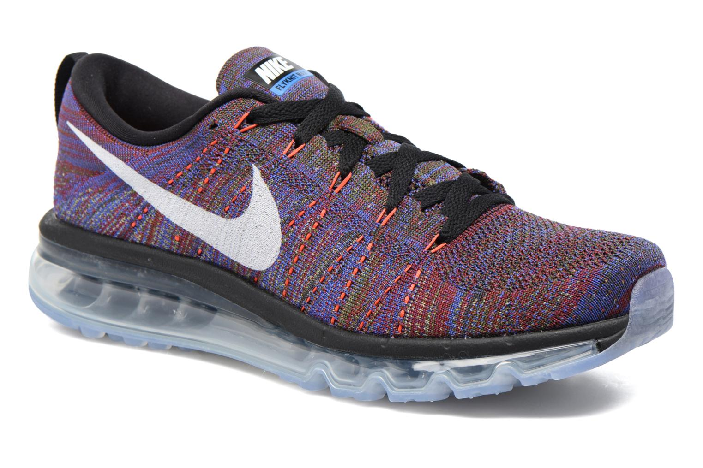 Chaussures de sport Nike Nike Flyknit Max Multicolore vue détail/paire