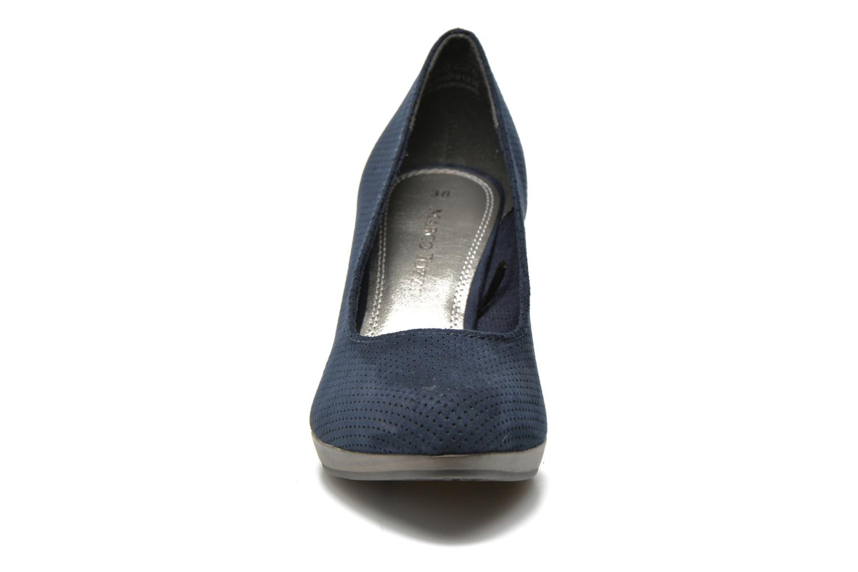 Escarpins Marco Tozzi Lolly Bleu vue portées chaussures
