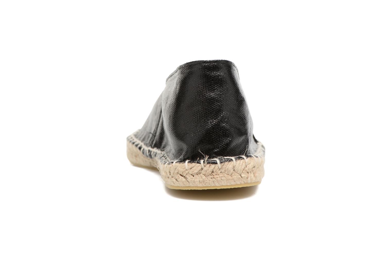 Haisha espadrillos Glitter Black