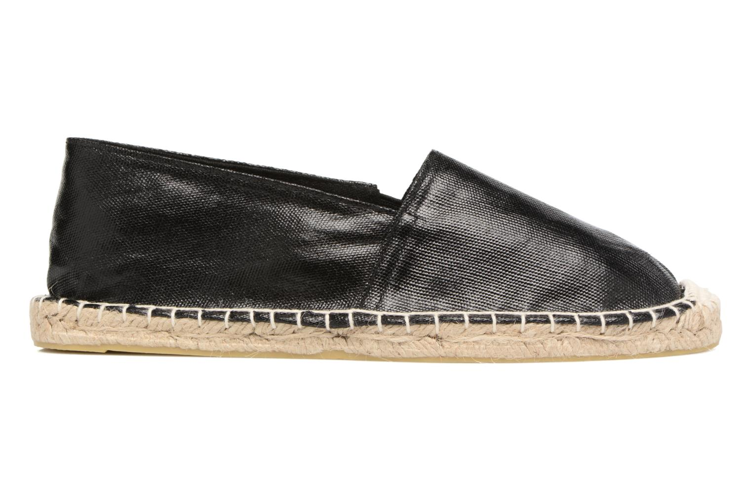 Espadrilles Pieces Haisha espadrillos Black back view