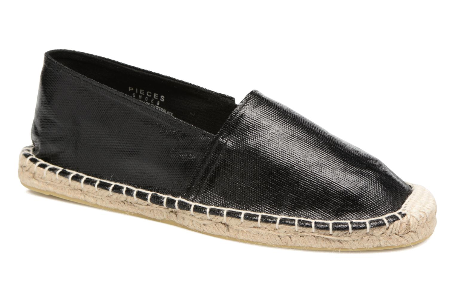 Espadrilles Pieces Haisha espadrillos Black detailed view/ Pair view
