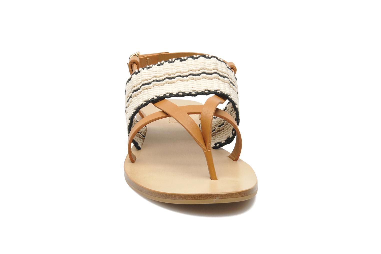 Sandalias See by Chloé Kenna II Multicolor vista del modelo